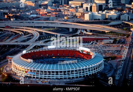 Atlanta-Fulton County Stadium. Atlanta. USA - Stock Photo