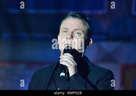 Rust, Germany. 07th Dec, 2017. Show 'Weihnacht mit Stefan' Credit: mediensegel/Alamy Live News - Stock Photo