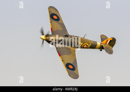 The Shuttleworth Collection Evening Flying July 2013 - Stock Photo
