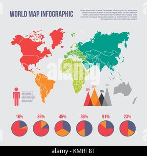 World map infographic chart statistics percent graphs stock vector world map infographic chart statistics percent population stock photo gumiabroncs