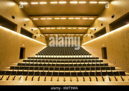 Juan Crisostomo de Arriaga music conservatory, Sarriko, Bilbao. Biscay, Basque Country, Spain - Stock Photo