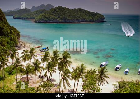 Ang Thong National Marine Park.Ko Samui, Surat Thani Province, Thailand, Asia - Stock Photo