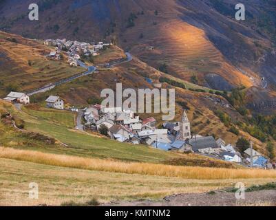 les terrasses, la grave, hautes alpes, FRANCE - Stock Photo