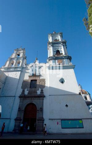 Templo de nuestra Senora del Carmen Toluca estado de Mexico - Stock Photo