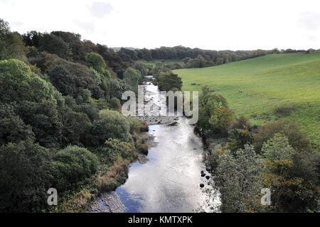 River Almond west Calder Scotland - Stock Photo