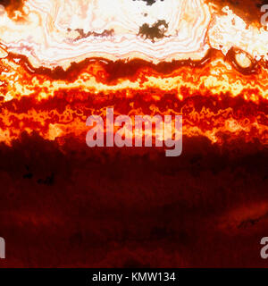 Burning flames and gases cross section, abstract background illustration