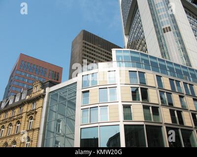 City landscape Frankfurt am Main Germany - Stock Photo