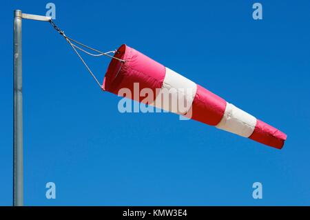 manga wind flying on a blue sky - Stock Photo