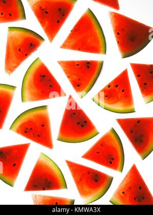 Watermelon background - Stock Photo