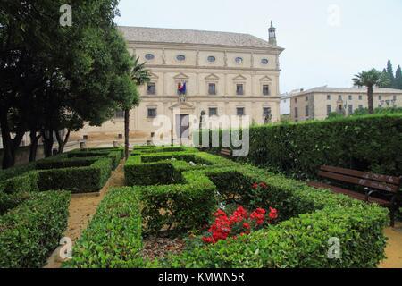 Palacio de las Cadenas, now occupied by the Town Hall  Úbeda  Jaén province, Spain - Stock Photo
