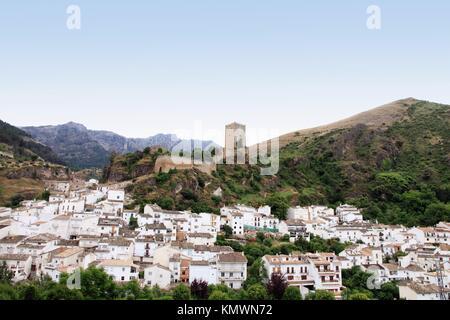 Cazorla village Sierra de Cazorla Segura and Las Villas Natural Park Jaen province Andalucia Spain - Stock Photo