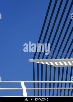 architecture detail in Torrox, Spain - Stock Photo