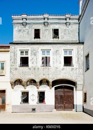 Slavonice, Czech Republic - Stock Photo
