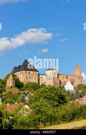 Lipnice nad Sazavou Castle, Czech Republic - Stock Photo