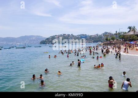 Playa Acapulco Guerrero Mexico - Stock Photo