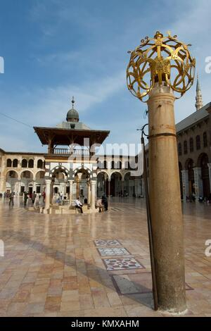 Umayyad mosque, Damascus, Syria - Stock Photo