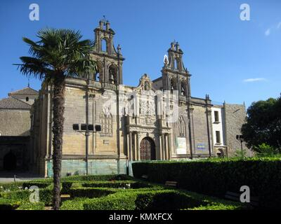Sta Maria church, Ubeda world heritage site, Jaen province, Andalusia, Spain - Stock Photo