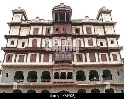 Indore Palace, Indore, Madhya Pradesh, India - Stock Photo