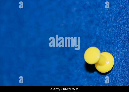 Colored pins on a board - Stock Photo