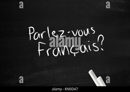 Parlez-vous francais - Stock Photo
