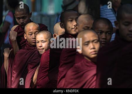 Mahar Gandar Yone Monastery, Amarapura, Mandalay, Myanmar, Asia - Stock Photo