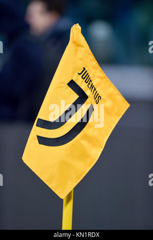 Turin, Italy . 09th Dec, 2017. during the Serie A football match between Juventus FC and FC Internazionale Milano - Stock Photo