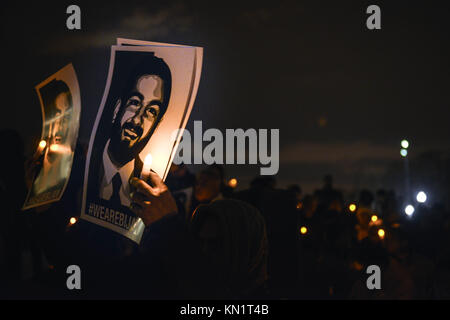 Washington, DC, USA. 7th Dec, 2017. Bijan Ghaisar, whose life was taken on Friday, November 17th, when he was shot - Stock Photo