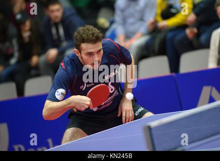 Germany. 10th Dec, 2017. Deutschland. 10th Dec, 2017. Sam Walker (Gruenwettersbach). GES/ Tischtennis/ 1. Bundesliga: - Stock Photo