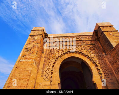 Gate in Rabat - capital city of Morocco, Africa. - Stock Photo