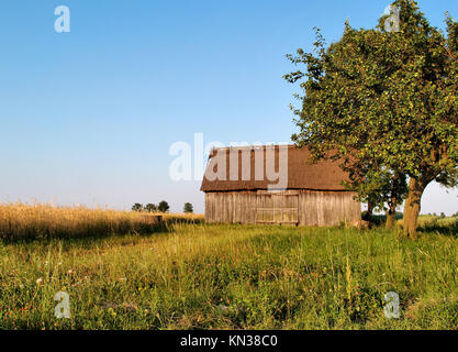Ancient barn in stone house in dine village in montesinho national stock photo royalty free - Traditional polish houses wood mastership ...