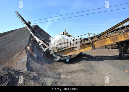 bucket wheel excavator. - Stock Photo