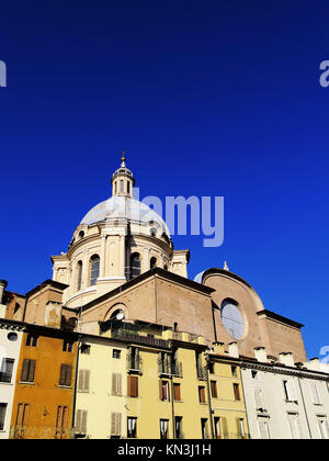Cathedral in Mantua - city in Lombardy, Italy. - Stock Photo
