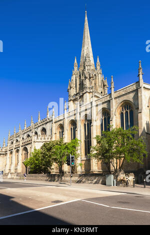 St Mary's University Church, Oxford, Oxfordshire, England. - Stock Photo