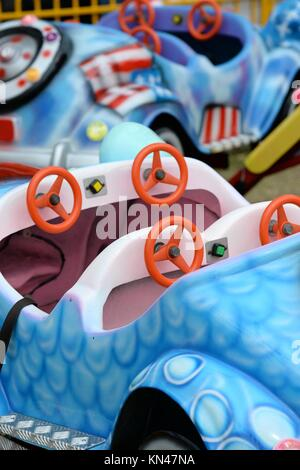 A close up shot of a carnival attraction. - Stock Photo