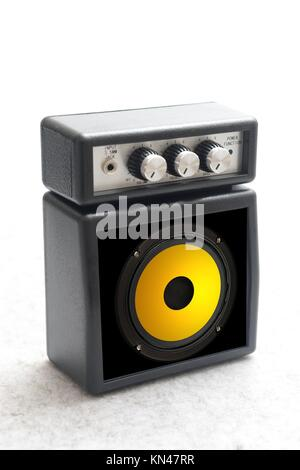 Musical equipment isolated against a plain background. - Stock Photo