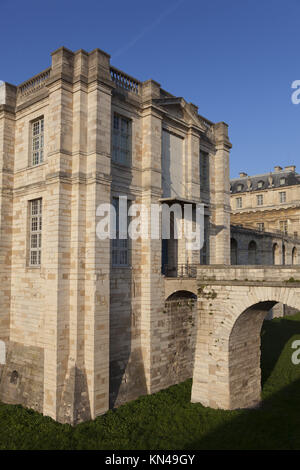 Vincennes castle, Paris, Ile-de-france, France. - Stock Photo