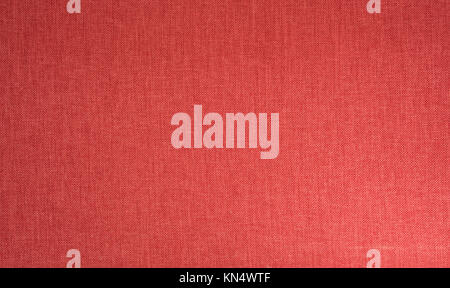 Red textile fabric full frame background high resolution - Stock Photo