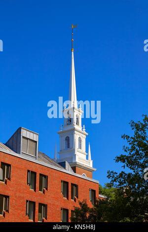 Harvard University in Cambridge Massachusetts USA. - Stock Photo