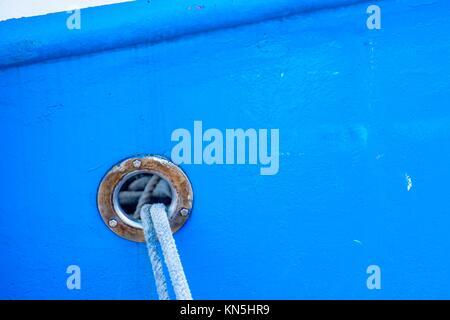 mooring line. - Stock Photo