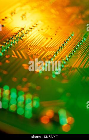 Computer board. - Stock Photo