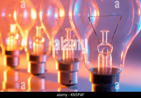 Light bulbs. - Stock Photo