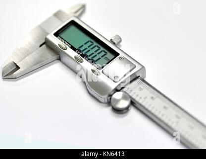 The electronic exact calliper. - Stock Photo