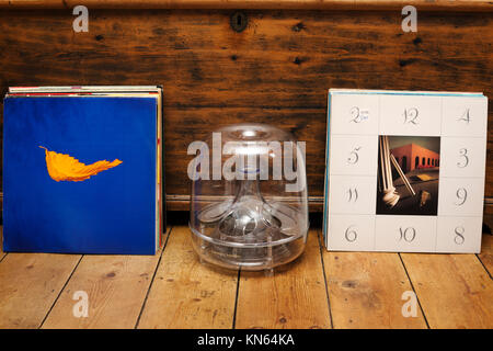 New Order vinyl records - Stock Photo
