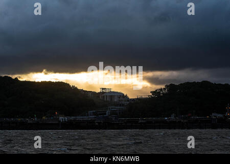 South Queensferry Edinburgh - Stock Photo
