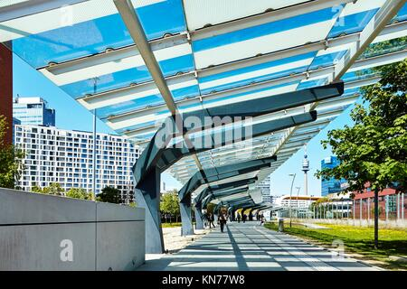 The Vienna International Centre VIC in Austria. - Stock Photo