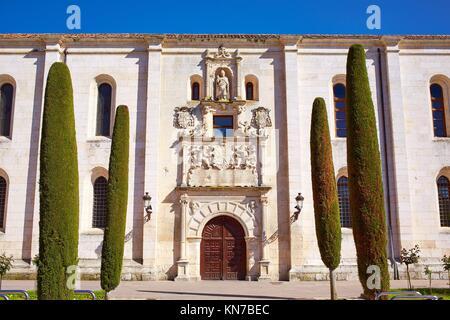 Burgos Cardenal Lopez Mendoza building in Castilla Leon at Spain. - Stock Photo