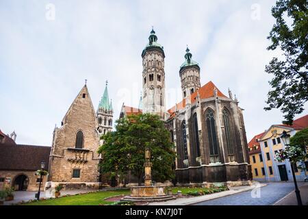 Naumburger Dom (Naumburg Cathedral), Naumburg an der Saale, Germany. - Stock Photo