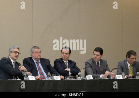 SÃO PAULO, SP - 11.12.2017: MINISTRO KASSAB PARTICIPA DE SEMINÁRIO - The Minister of Science, Technology, Innovation - Stock Photo