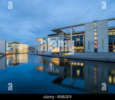 The auxiliary buildings of the German Bundestag (Federal Parliament). - Stock Photo