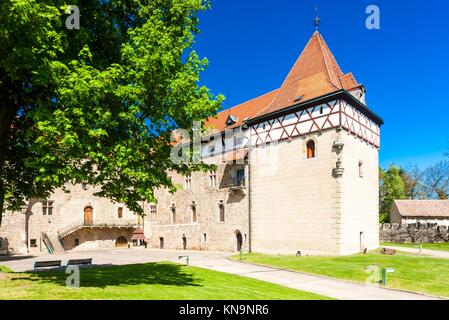 Budyne nad Ohri Palace, Czech Republic. - Stock Photo